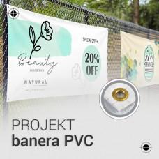 Projekt banera PVC