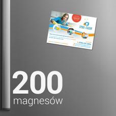 200 Magnesów na lodówkę