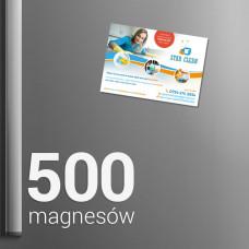 500 Magnesów na lodówkę