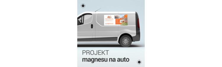 Projekt magnesu na samochód