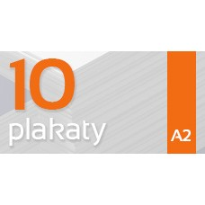 Plakat A2 - 10szt. 135gm Gloss Finish