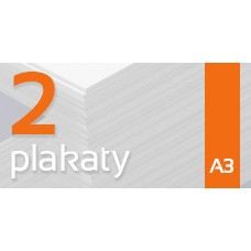 Plakat A3 - 2szt. 135gm Gloss Finish