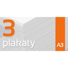 Plakat A3 - 3szt. 135gm Gloss Finish