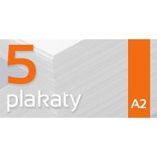 Plakat A2 - 5szt. 135gm Gloss Finish