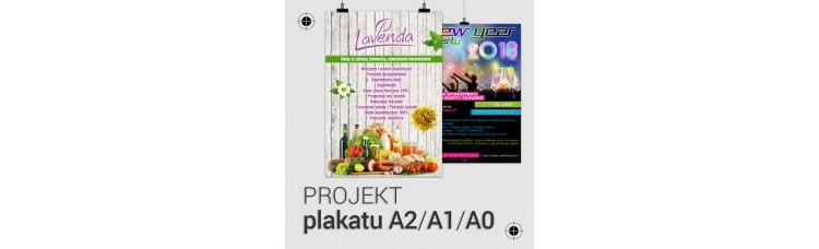 Projekt plakatu