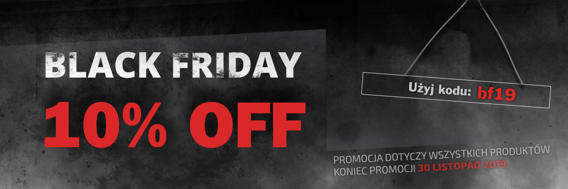 Black Friday 5% OFF
