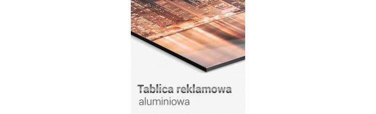 Tablica / szyld reklamowy aluminiowy