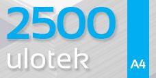 Ulotka A4 - 2500 szt. Gloss/Silk