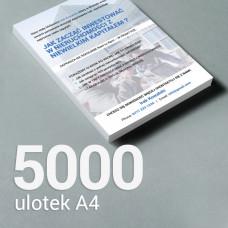 Ulotka A4 - 5000 szt. Gloss Finish