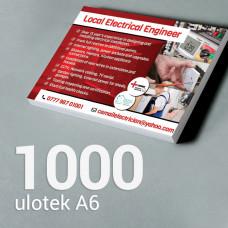 Ulotka A6 - 1000 szt. Gloss/Silk