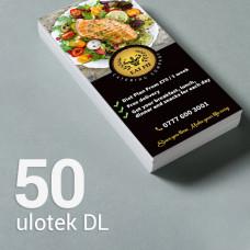 Ulotka DL - 50 szt. Gloss/Silk